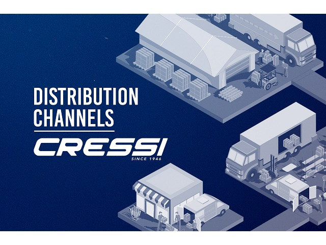 Cressi's Distribution Channels